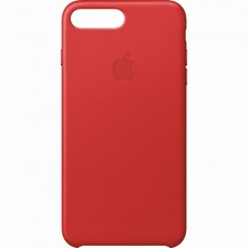 Dėklas originalus Apple Iphone 7 Leather Case Red