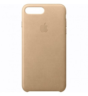 Dėklas originalus Apple Iphone 7 Plus Leather Case Tan