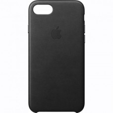 Dėklas originalus Apple Iphone 7 Leather Case Black