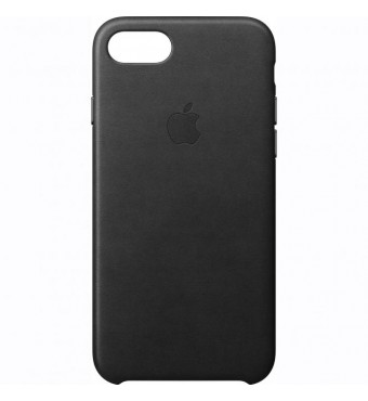 Dėklas originalus Apple Iphone 7 Plus Leather Case Black