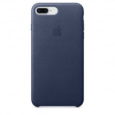 Dėklas originalus Apple Iphone 7 Leather Case Blue